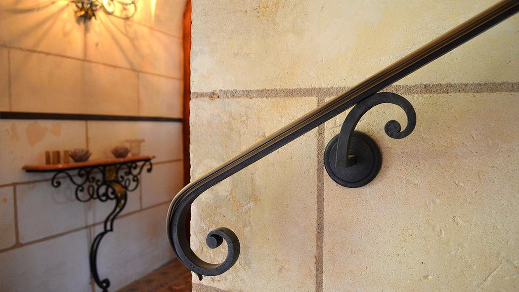FERRONNERIE D ART FRANÇAISE Main courante Escaliers Echelles Equipement  |
