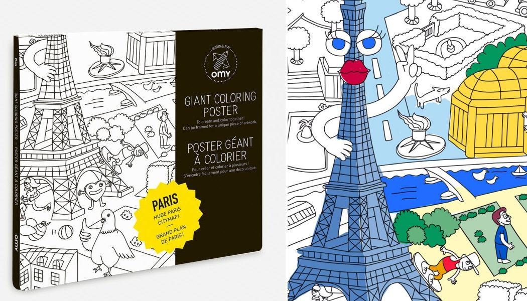 OMY Cahier de coloriage Papeterie Ecriture Papeterie Accessoires de bureau  |