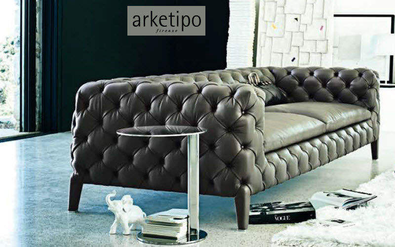 Arketipo Canapé Chesterfield Canapés Sièges & Canapés Salon-Bar   Design Contemporain