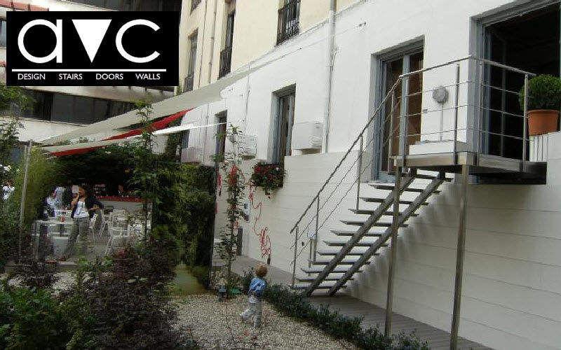 Escalier d 39 ext rieur escaliers echelles decofinder for Echelle exterieur