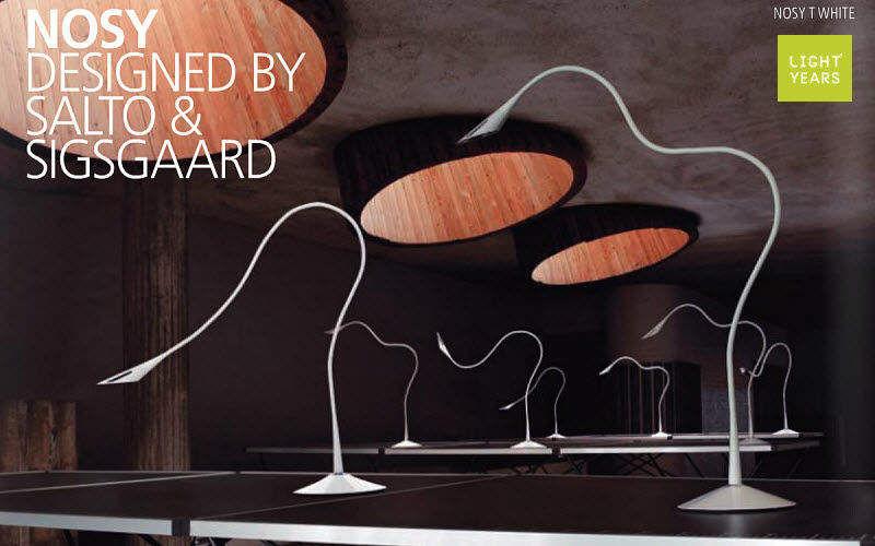 Light years Lampe de bureau Lampes Luminaires Intérieur Lieu de travail | Design