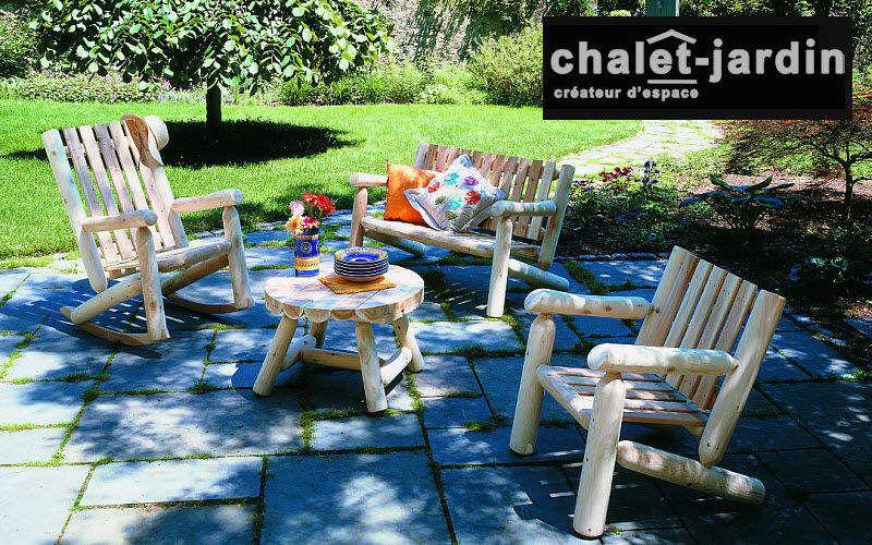 Chalet & Jardin Salon de jardin Salons complets Jardin Mobilier Terrasse | Décalé