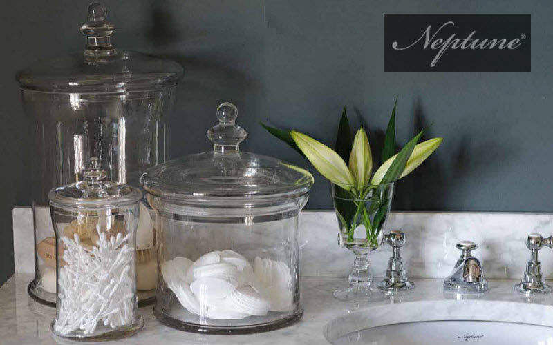 Neptune Classics Pot à coton Pots et flacons Bain Sanitaires Salle de bains | Classique