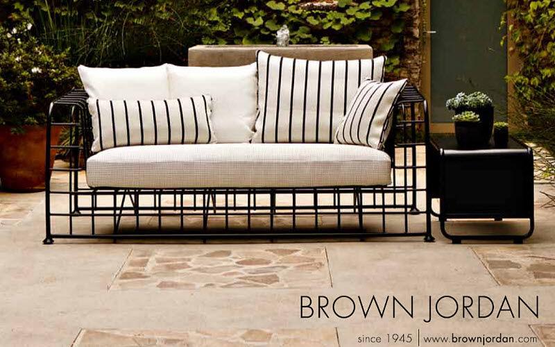 Brown Jordan Canapé de jardin Salons complets Jardin Mobilier  |