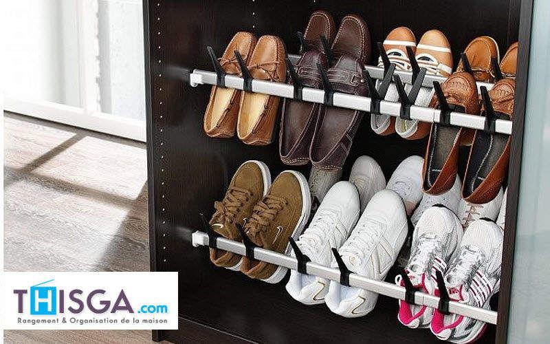 THISGA Porte-chaussures Dressing accessoires Rangement Dressing  |