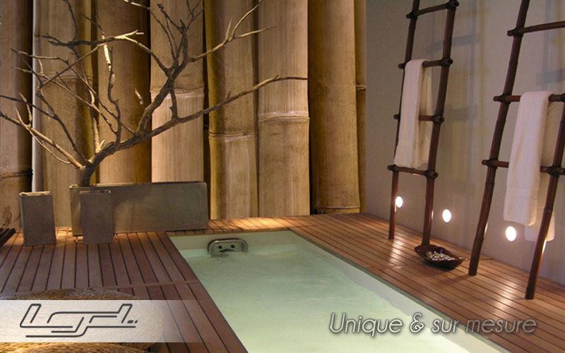 LGD01 ® Papier peint panoramique Papiers peints Murs & Plafonds Salle de bains | Design Contemporain