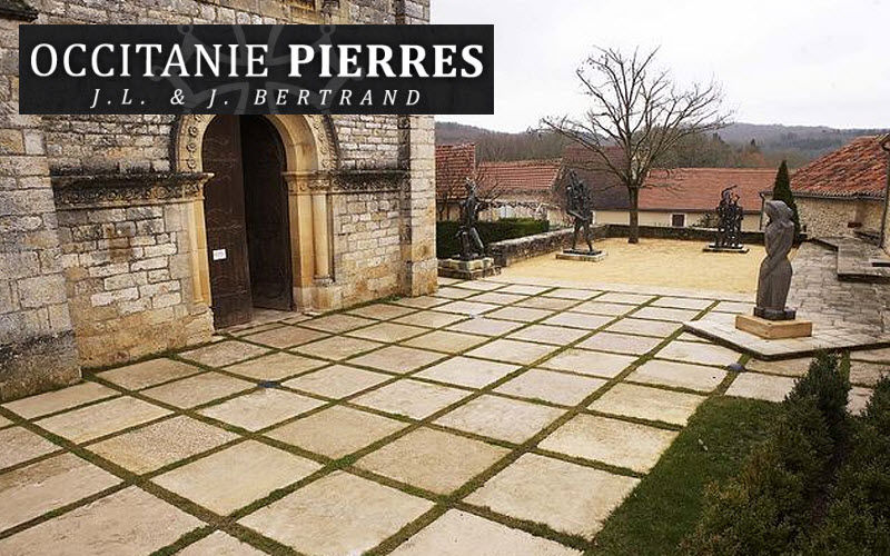 Occitanie Pierres Dalle d'extérieur Sols extérieurs Sols Terrasse | Classique
