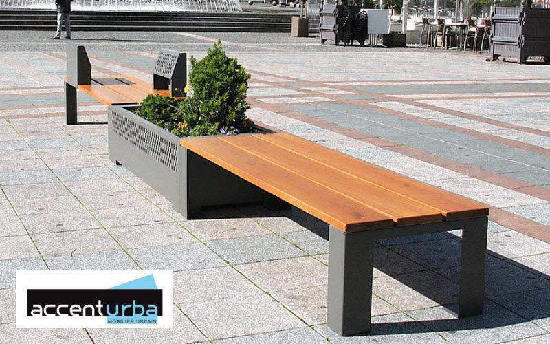 ACCENTURBA Jardinière urbaine Mobilier urbain Extérieur Divers  |