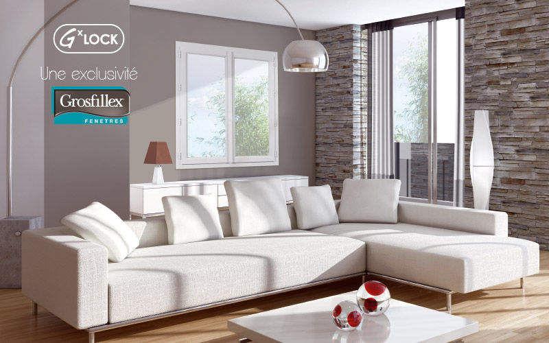 Grosfillex fenêtres Fenêtre 2 vantaux Fenêtres Portes et Fenêtres Salon-Bar | Design Contemporain