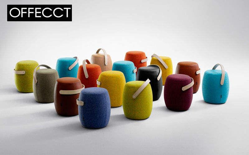 OFFECCT Pouf Tabourets et poufs Sièges & Canapés Salon-Bar | Design Contemporain