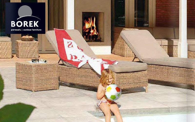 Borek Bain de soleil Chaises longues Jardin Mobilier  |