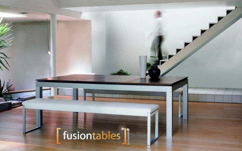FUSIONTABLES Table de repas rectangulaire Tables de repas Tables & divers Salle à manger | Design Contemporain