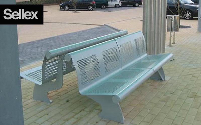 SELLEX Banc urbain Bancs de jardin Jardin Mobilier Espace urbain | Contemporain