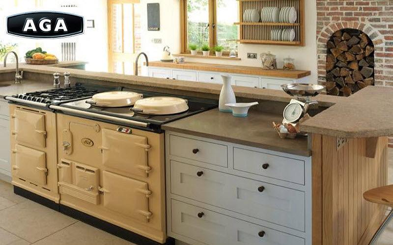 Cuisini res cuisine equipement decofinder - Piano de cuisson aga ...