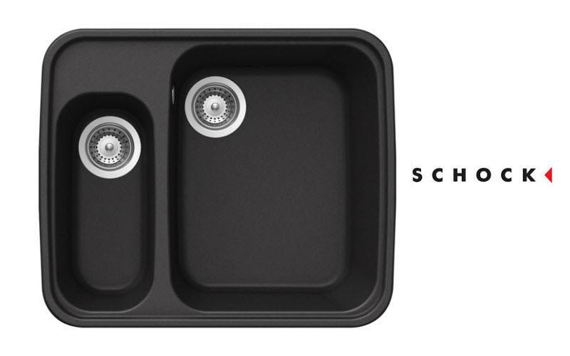 Schock Evier double Eviers Cuisine Equipement  |
