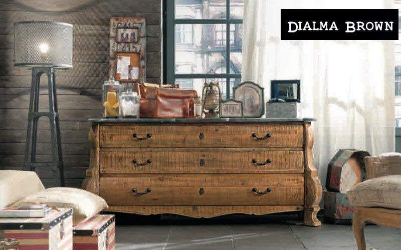 DIALMA BROWN Commode Meubles à tiroirs Rangements  |