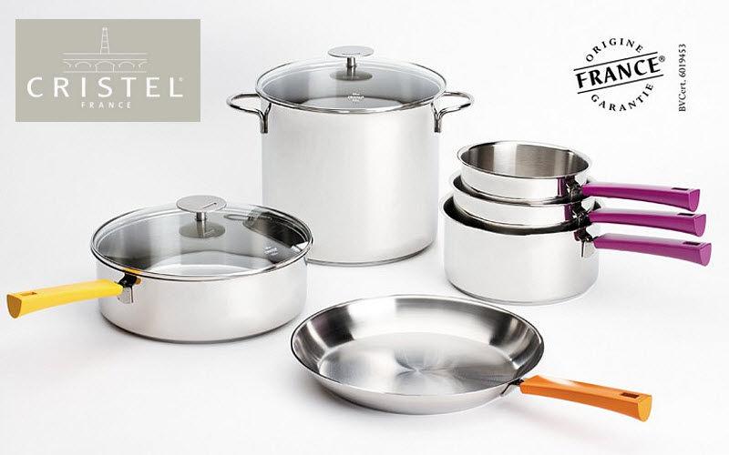 Batterie de cuisine casseroles decofinder - Batterie de cuisine cristel ...