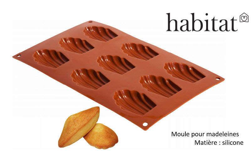 Habitat France Moule à madeleines Moules Cuisine Cuisson  |