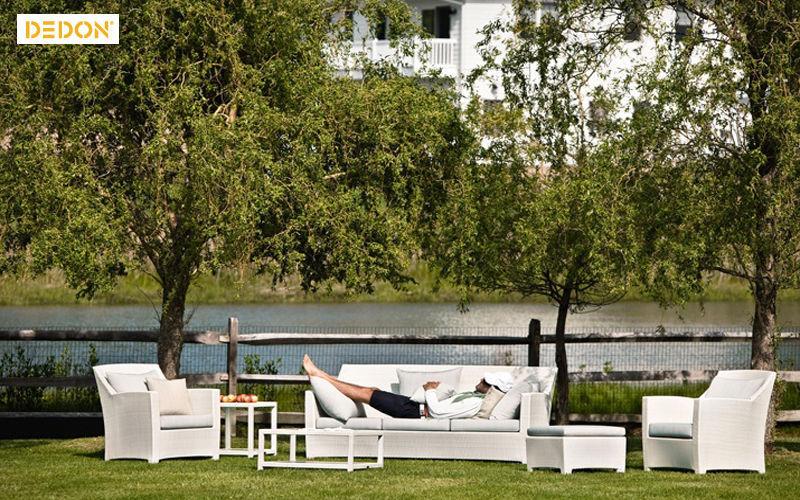 Dedon Canapé de jardin Salons complets Jardin Mobilier  |