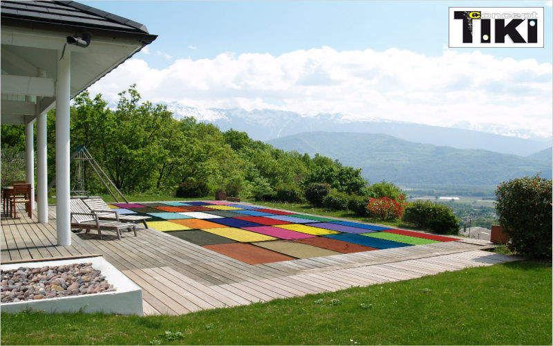 Tiki concept Couverture de piscine personnalisée Couvertures et baches Piscine et Spa  |