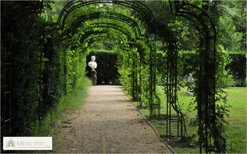 METAL VERT Arche Claustras et treillages Jardin Abris Portails... Jardin-Piscine | Classique