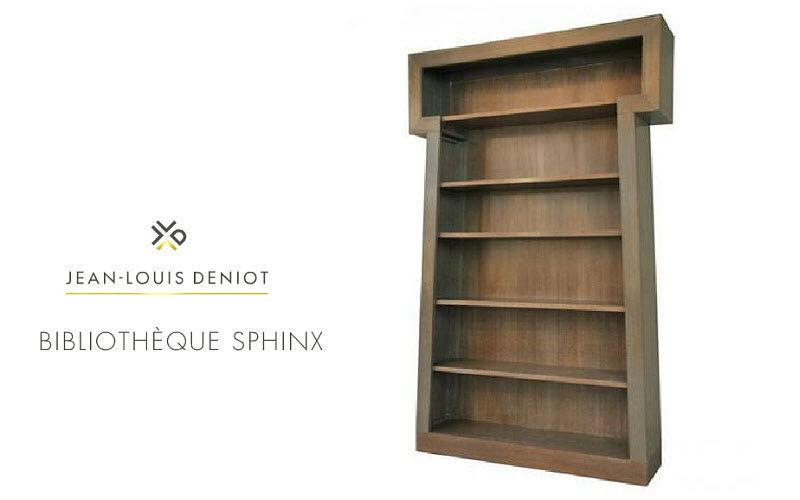 JEAN-LOUIS DENIOT Bibliothèque ouverte Bibliothèques Rangements  |