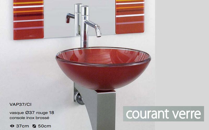 COURANT VERRE Lavabo gain de place Vasques et lavabos Bain Sanitaires  |