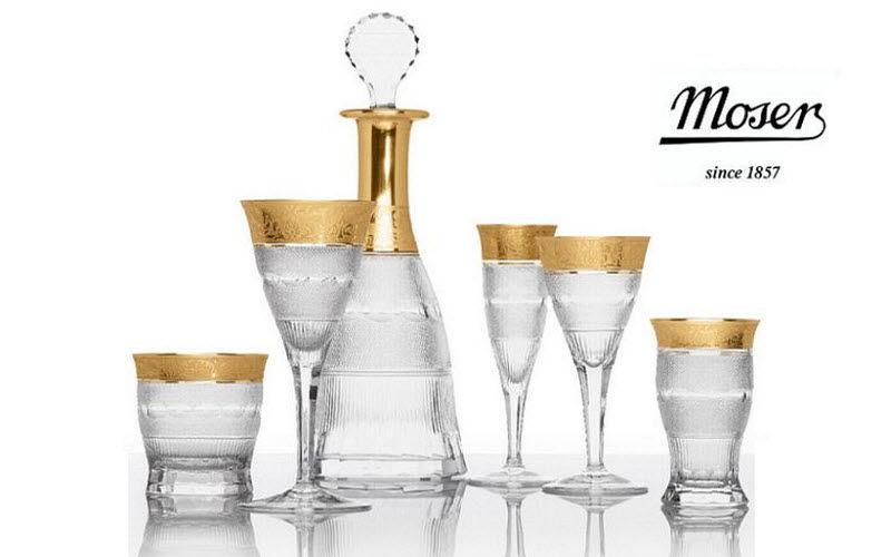 Moser Service de verres Services de verres Verrerie  |