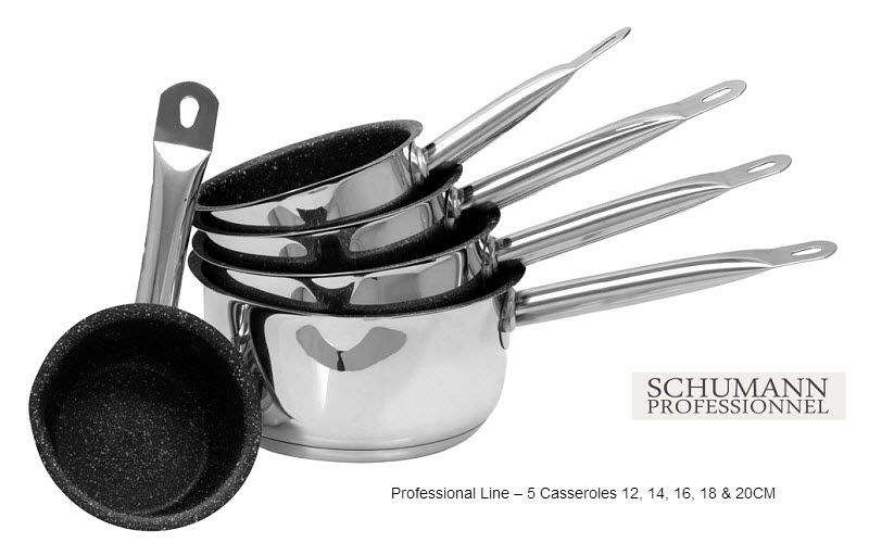 SCHUMANN PROFESSIONNEL Casserole Casseroles Cuisine Cuisson  |