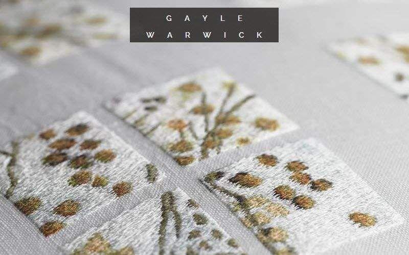 Gayle Warwick Taie d'oreiller Coussins Oreillers Linge de Maison  |