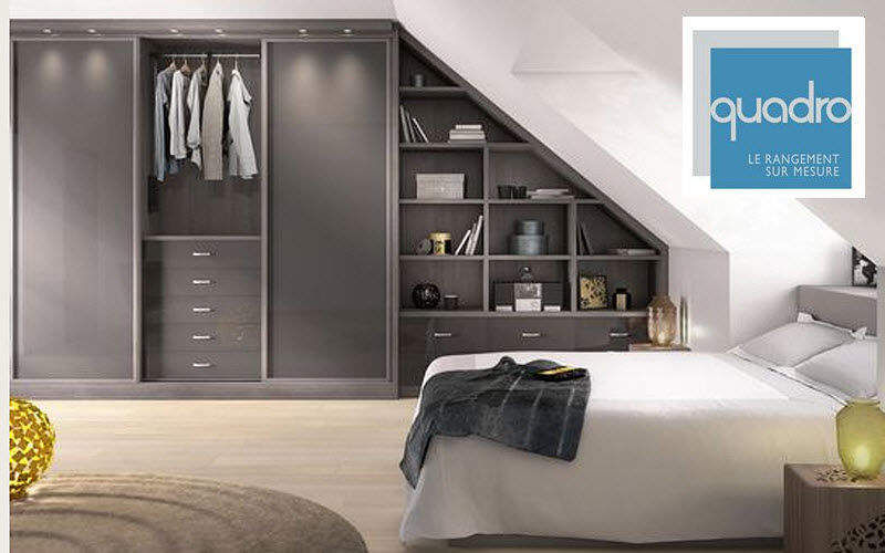 placard sous pente placards decofinder. Black Bedroom Furniture Sets. Home Design Ideas