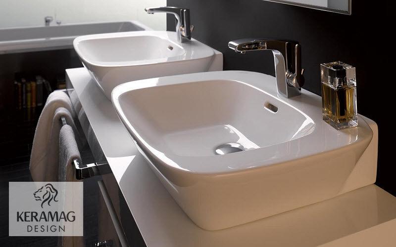 KERAMAG Vasque à poser Vasques et lavabos Bain Sanitaires   