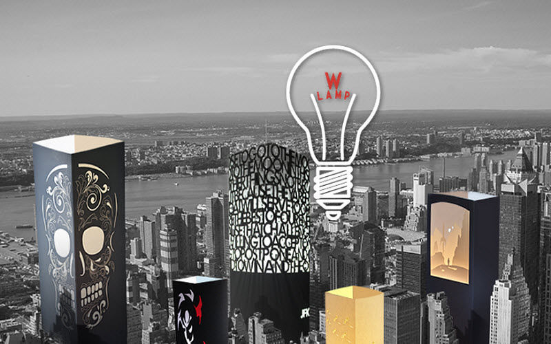 W-LAMP Lampe à poser Lampes Luminaires Intérieur  |