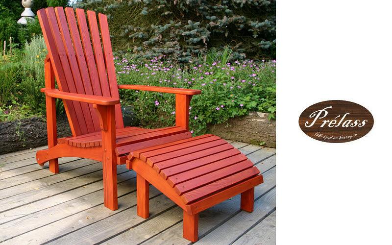 PRELASS Chaise longue de jardin Chaises longues Jardin Mobilier  |