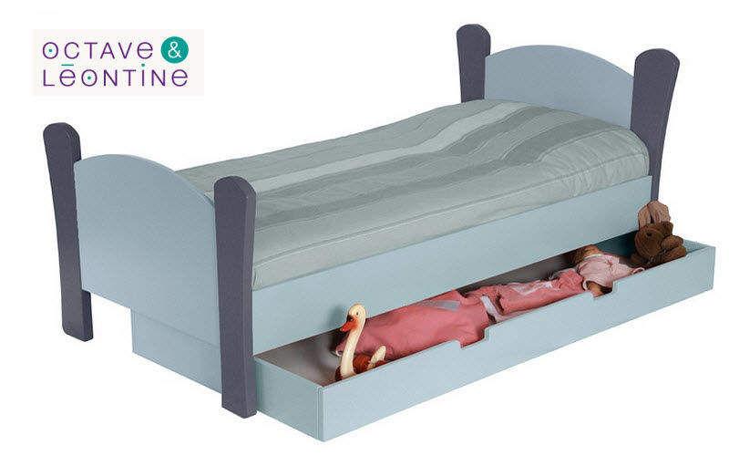 OCTAVE ET LEONTINE Lit enfant à tiroir Chambres Enfant Enfant  |