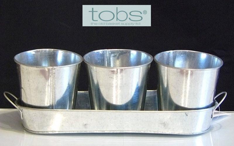 THE OLD BASKET SUPPLY TOBS Pot de fleur Pots de jardin Jardin Bacs Pots  |