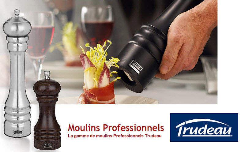 Trudeau Moulin à poivre Epices Accessoires de table  |