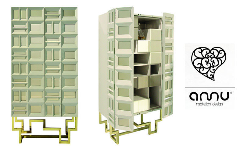 AMU - INSPIRATION DESIGN Cabinet Bahuts Buffets Meubles de salon Rangements  |