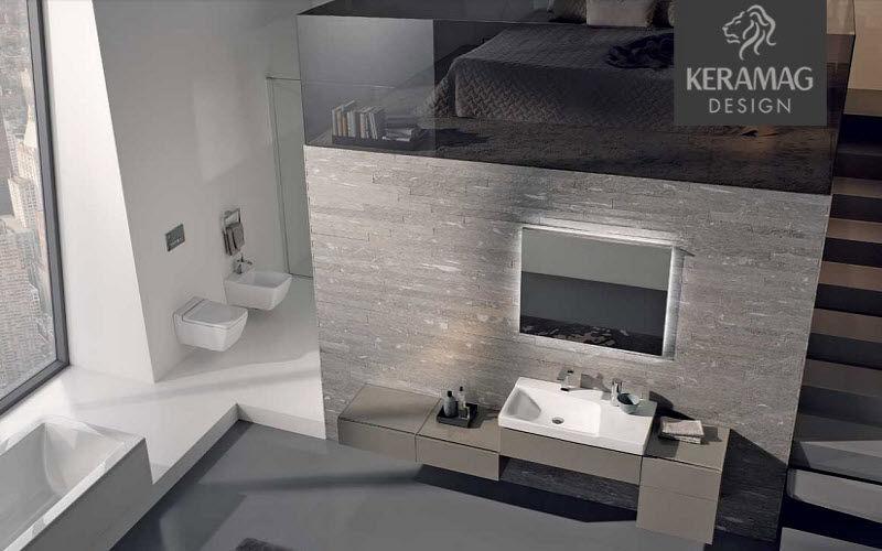 KERAMAG Salle de bains Salles de bains complètes Bain Sanitaires Salle de bains   Design Contemporain