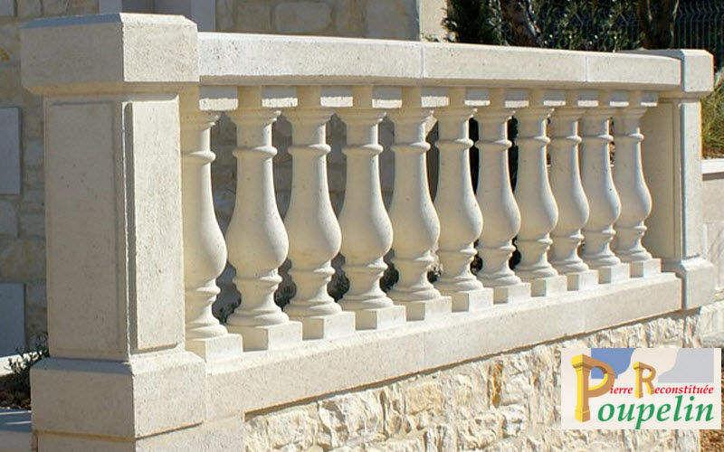 POUPELIN PIERRE RECONSTITUEE Balustrade Clôtures Bordures Jardin Abris Portails...  |