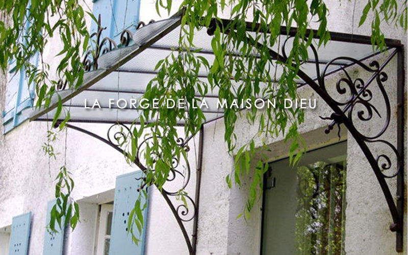 La Forge  de La Maison Dieu Marquise (auvent) Auvents et marquises Portes et Fenêtres  |