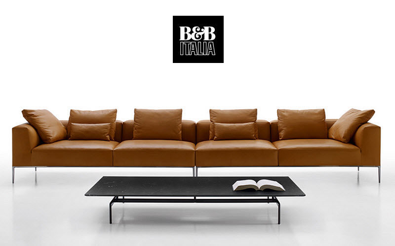 B&B Italia Canapé 4 places Canapés Sièges & Canapés Salon-Bar | Design Contemporain