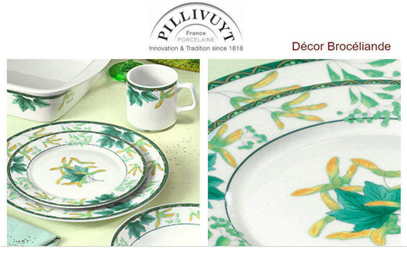 Pillivuyt Service de table Services de table Vaisselle  |