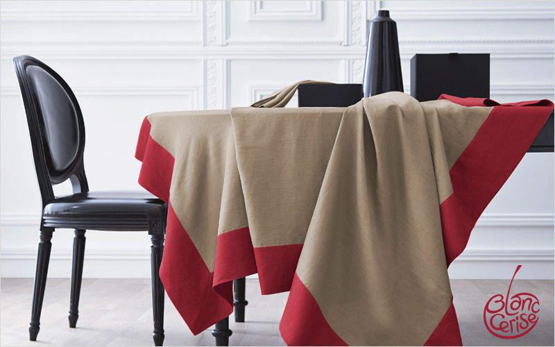BLANC CERISE Nappe et serviettes assorties Nappes Linge de Table   
