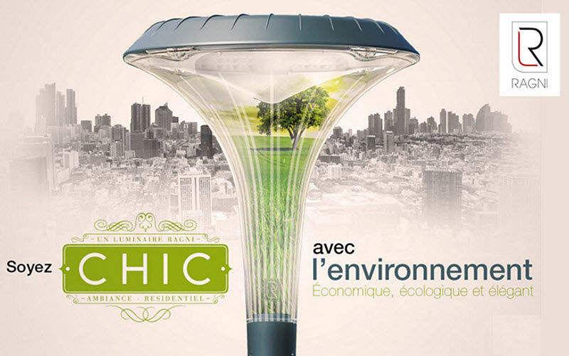 Ragni Lampadaire urbain Réverbères lampadaires Luminaires Extérieur  |