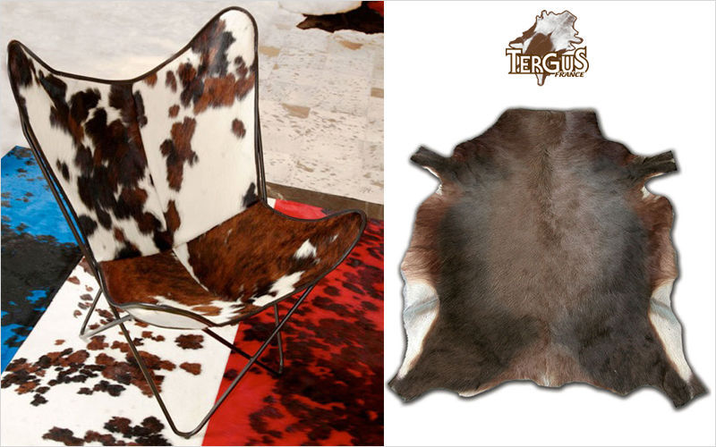 Tergus Peau de vache Peaux de bête Tapis Tapisserie  |