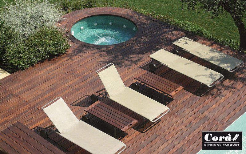 CORA PARQUET Plancher de terrasse Sols extérieurs Sols  |