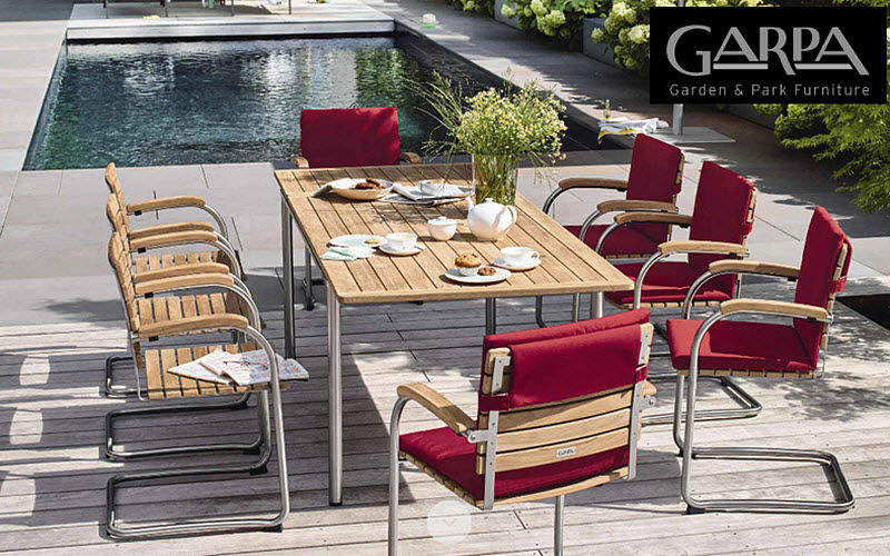 Garpa Salle à manger de jardin Tables de jardin Jardin Mobilier  |