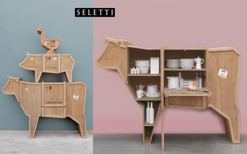 SELETTI Buffet haut Bahuts Buffets Meubles de salon Rangements  |