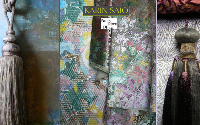 KARIN SAJO Embrasse Embrasses Tissus Rideaux Passementerie   